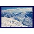 mountains snow france winter ski alps