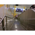 Istanbul Metro Deep Stairs Escelator Subway Turkey