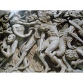 ......Details of the 4th pier The Last Judgement.....The Damned.......