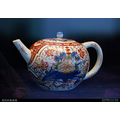 Qing china export porcelain Chinaware exhibition antique teapot