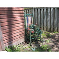 shed rockingchair fence