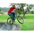 boy skatebowels bike mountainbike mtb jump extreme
