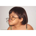 girl child children glasses playing cute