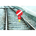 rail train red warn warning danger