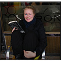 reykjavik iceland people person girl cafe smile blue eyes book read