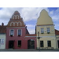 Twins Kedainiai Lithuania City Architecture building