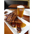 beer and ribs