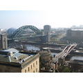 tyne bridge aerial view