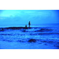 evening bath coastscape melinsung papar borneo
