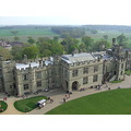 i chose this picture because it reminded me of when i went to warwick castle. it was very high be...