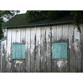 shed barn windows weathered wood rustic