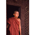 Myanmar Burma People Monk
