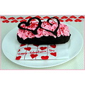 cake hearts chocolate