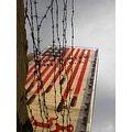 kombizz the_wall barbed_wire another_view angle_of_view American_flag tehr