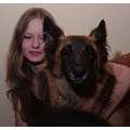 I believe my dogs didn�t understand what we where doing with al the light and the big black camer...