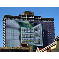 building johannesburg advert beer painted