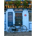 bicycle bike pub Kilkenny tynans bar Ireland 1703