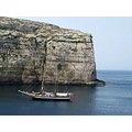 scenery sea boats gozo znuber