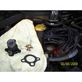 Change water temperature valve on a Jeep V8