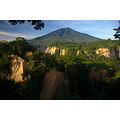 sianok canyon bukittinggi west sumatera indonesia