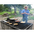 Breakfast on the ranch - very good at that!
