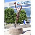 Art Statue Karl Malone SLC Salt Lake City Delta Center Utah Jazz