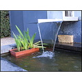water waterfall fountain garden pond