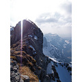 pilatus landscape switzerland luzern mountain alps ray light snow