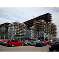 At 4:01pm.Buildings still under construction-by Sugar Beach-Toronto,Ont.,On Friday,June 21,2013