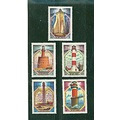 Lighthouses Russia Stamps
