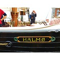 Halmo Sign Kjobenhavn SHIP 1900 Denmark Landskrona 2013 May Yellow Black