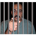 Photo shop-  Yaser behind bars