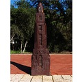 skyscapers metal bollards joondalup city perth littleollie