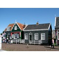 Holland Marken shops harbour