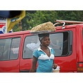 ghana accra street road car traffic food red nuts peanut