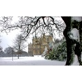Wollaton Hall in the snow.....................Mad March weather