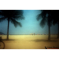 santos sao paulo brazil beach seascape sun sand vintage sea water hit