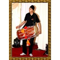 Punjabi Drum Player abhatti Bradford UK