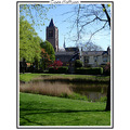 church building holland netherlands tholen landscape city village town