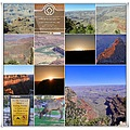 myfinest2012friday Grand Canyon Arizona USA collage