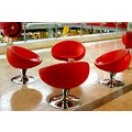 Chairs modular modularchairs leather seats seating formation chrome