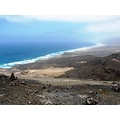 fuerteventura cofete beach canary islands landscape nature sea atlantic ocean