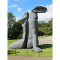7. Sculpture by Sophie Ryder - side view proves interesting!