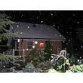 Snowing in the night