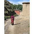 china tibet xiahe labrang monastery woman