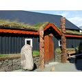 Viking Building House Iceland