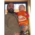 B and his Home Depot apron that Grans gave him 011906