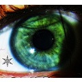 me messing about...... this is my eye...I put a snowflake in it for christmas lol...