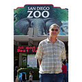 John at San Diego Zoo Entrance