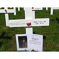 Each cross represent  one of the  5000 New Zealanders lost their lives battle of Paschendale on 1...